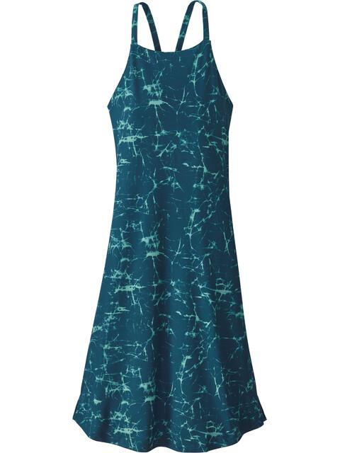 Patagonia Sliding Rock - Robe Femme - Bleu pétrole